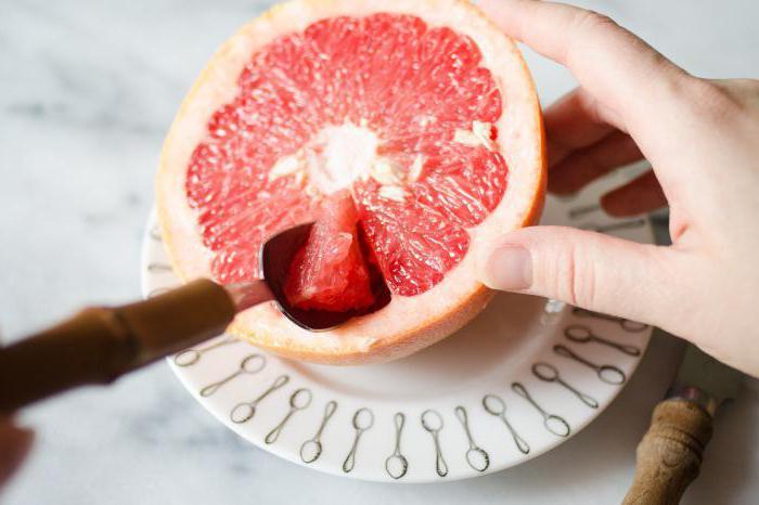 как правильно чистить грейпфрут