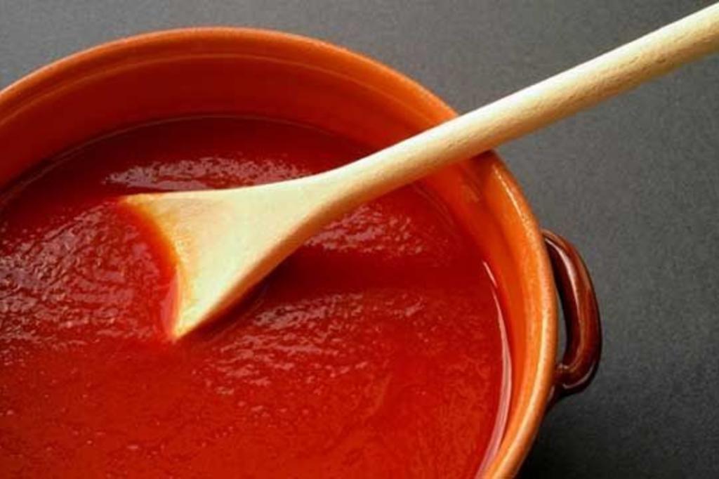 Томатный соус к спагетти