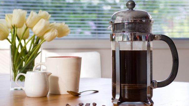 как готовить кофе в френч прессе