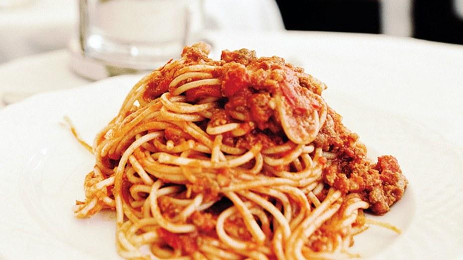 Bucatini with Amatriciana Sauce