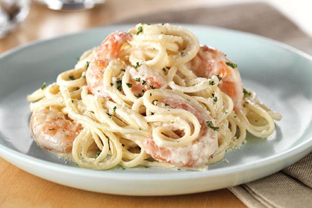 Pasta recipe in creamy sour cream sauce