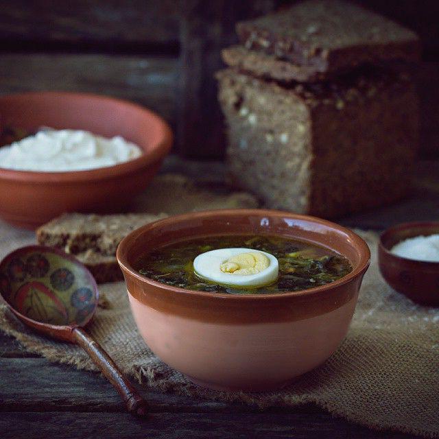 как сварить суп из крапивы и щавеля