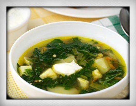 как варить суп из крапивы и щавеля