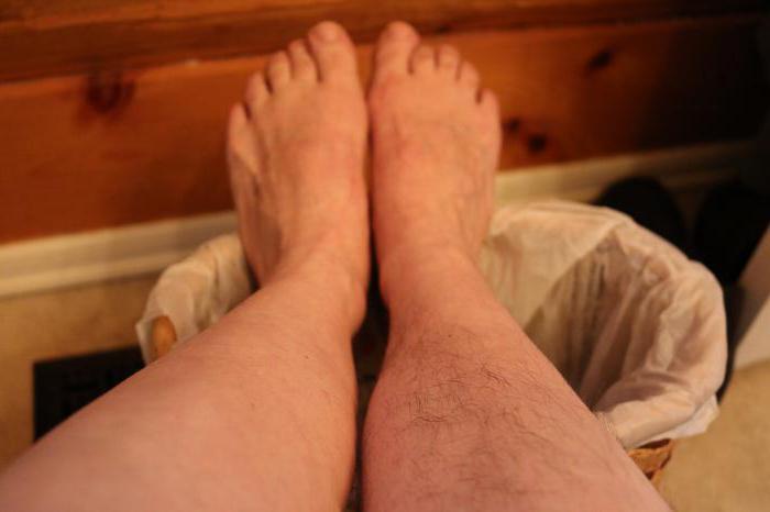 почему растут волосы на ногах