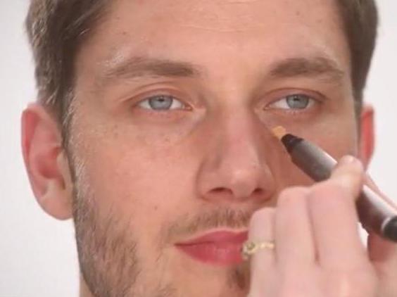 мужской макияж для фотосессии фото