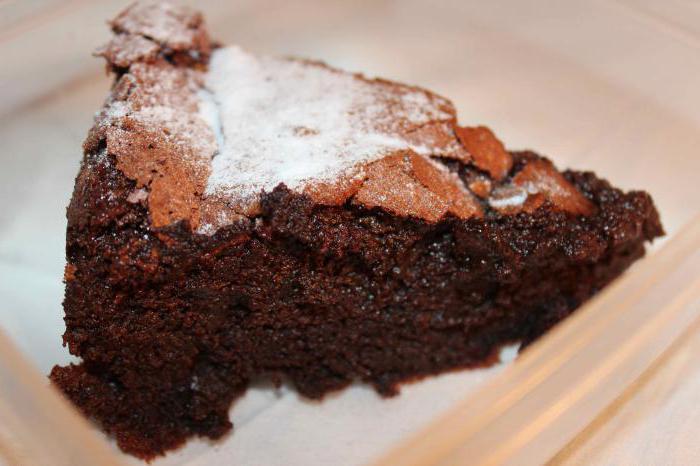 Сладкий пирог на кефире с какао рецепты