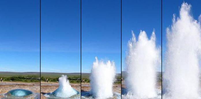 Исландия вулканы и гейзеры