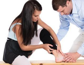 Что делать если сильно подвернул ногу