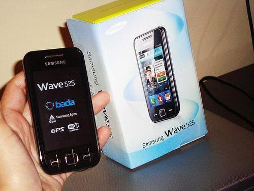 смартфоны samsung wave 525