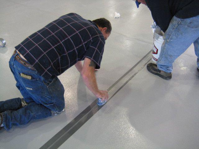 деформационные швы в бетонных полах нормы