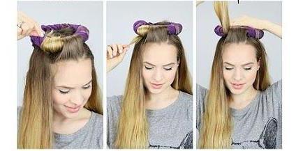 сделать красивую укладку волос