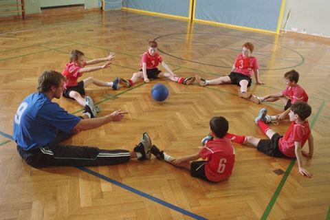 детские спортивные упражнения