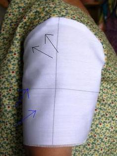 виды длинных рукавов