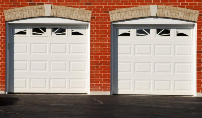 стандартные размеры гаража на 2 машины