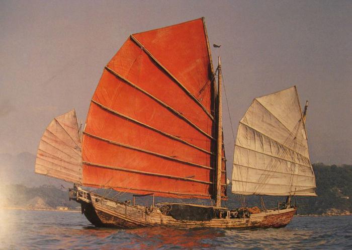 Лодки джонки фото