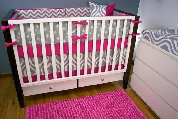 выкройка бортики на кроватку для новорожденных своими руками