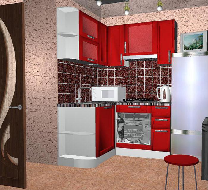 дизайн малогабартной кухни 5 кв м