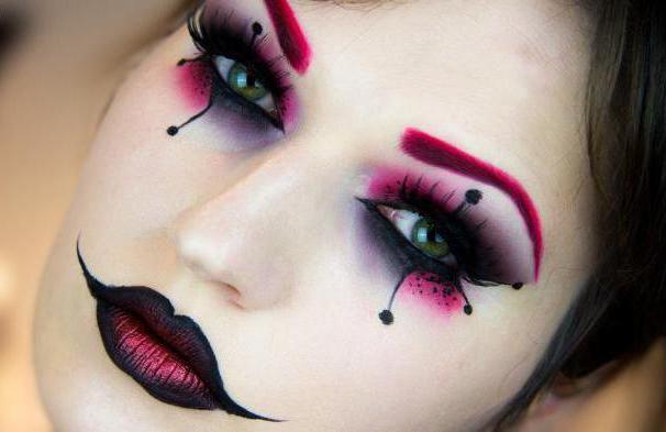 макияж в готическом стиле