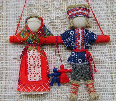 русские куклы обереги