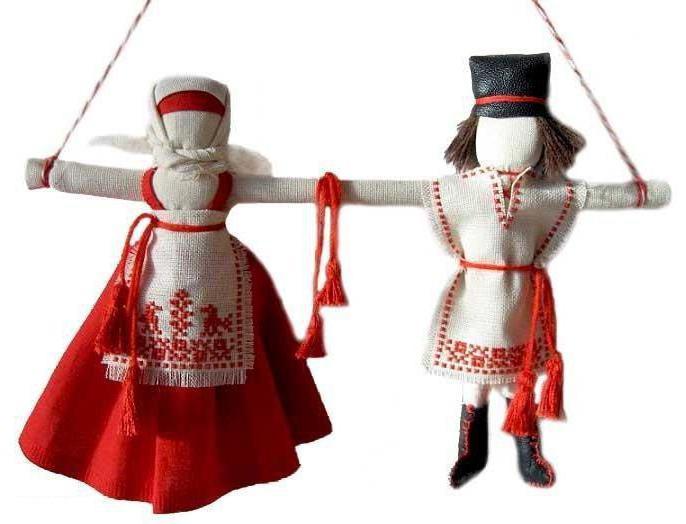 славянская кукла неразлучники мастер класс