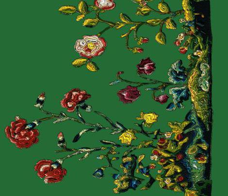вышивка рококо схемы