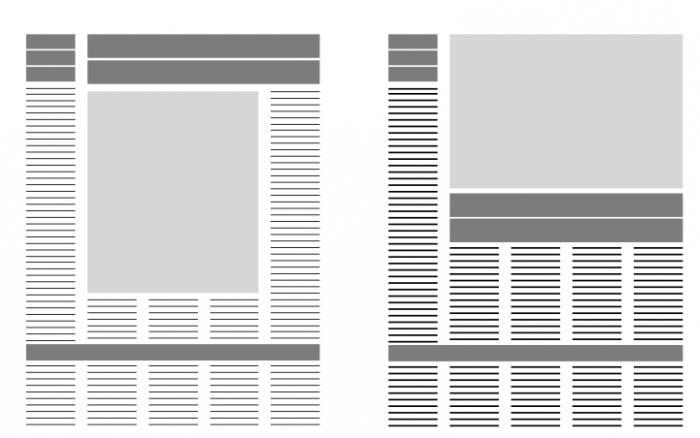 верстка газеты пример