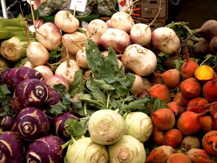 виды зеленых овощей