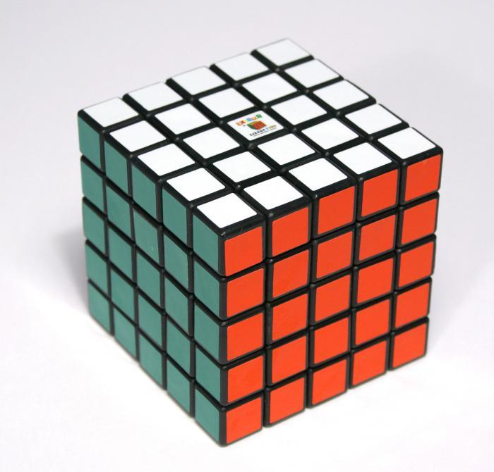 Как собирать кубик рубика 5х5