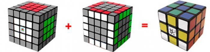 Невозможное возможно, или Как собирать кубик Рубика 5х5