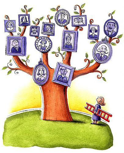 Как правильно составить древо своей семьи