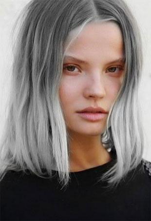 Престижный тренд — сероватые волосы! Пользующиеся популярностью…