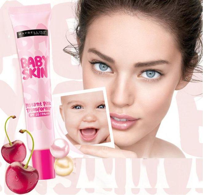 мейбелин основа под макияж baby skin