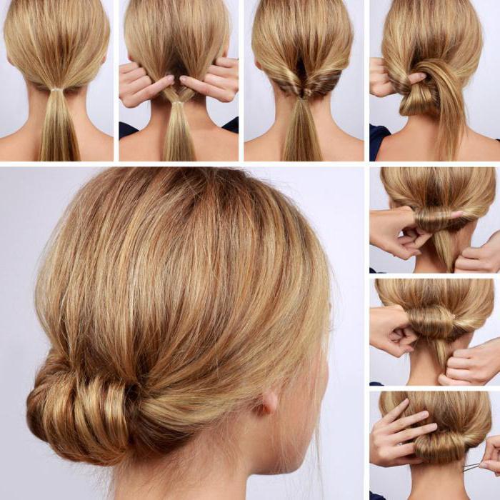 Причёски колосок обычный