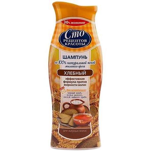 шампунь сто рецептов красоты хлебный
