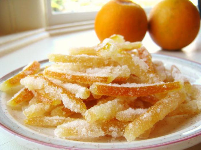как приготовить апельсиновые цукаты в домашних условиях