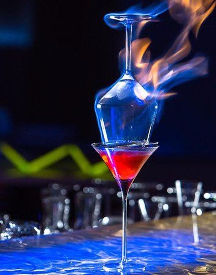 как делать коктейль ламборджини