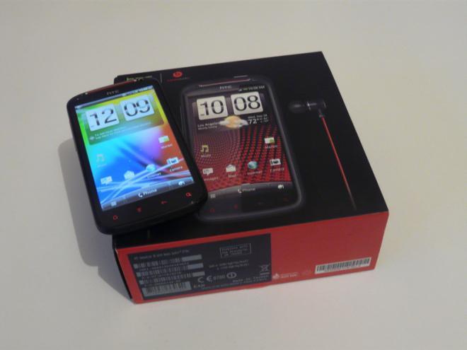 HTC Sensation XE With Beats Audio Z715e | IML74K ...