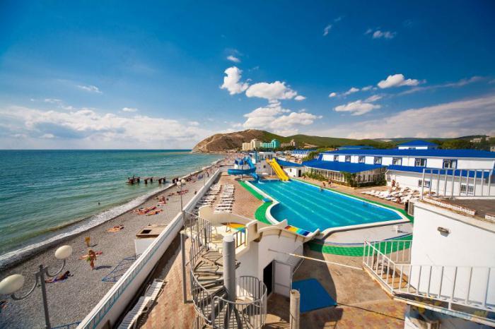 лагерь на Черном море