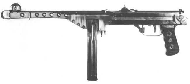 ППС (пистолет-пулемет Судаева)