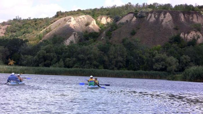 Отдых на реке Ворскла