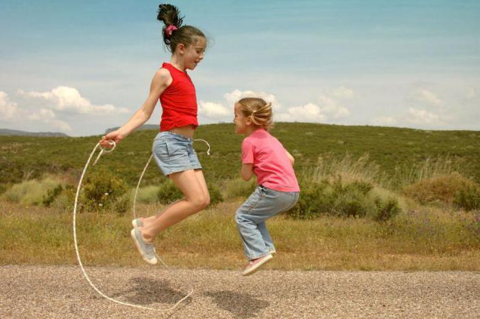 Как научить ребенка правильно прыгать на скакалке