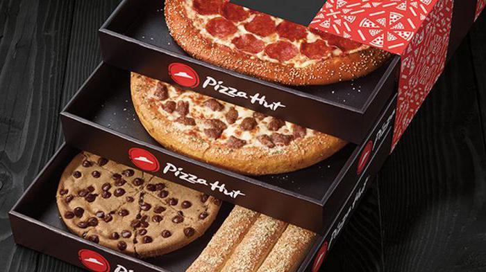 Пицца хат меню