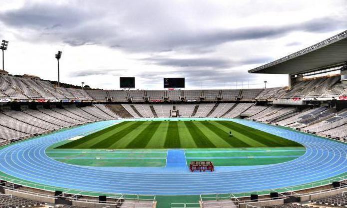 Олимпийский стадион Барселоны: описание, фото Стадион Барселоны Вместимость