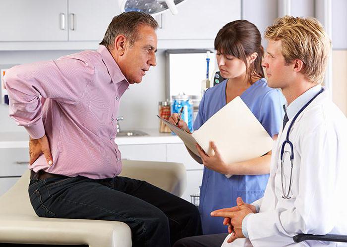 Сильные боли в пояснице причины и диагностика