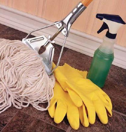 Уборщик производственных помещений и служебных помещений: должностная инструкция