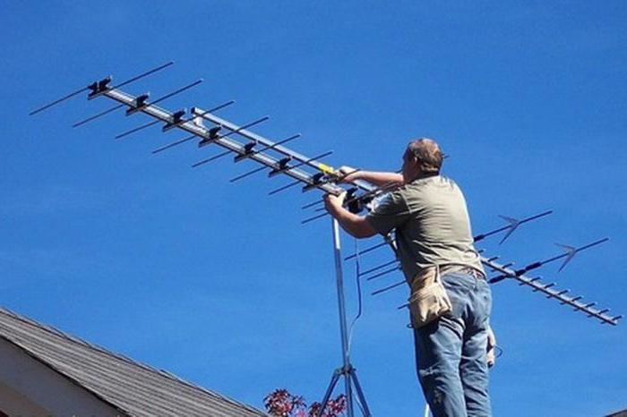 Установка эфирной антенны своими руками 37