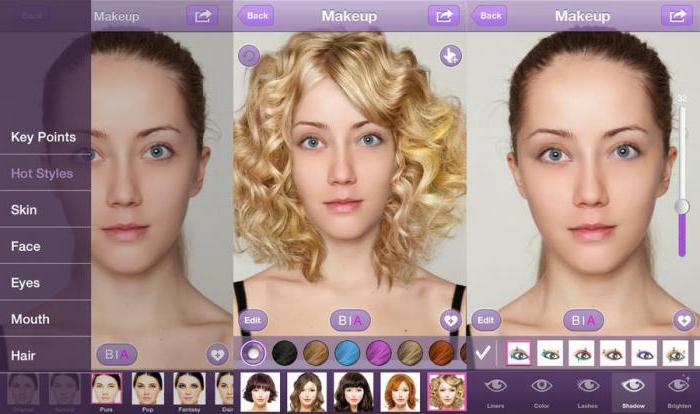 программа в которой можно поменять цвет волос