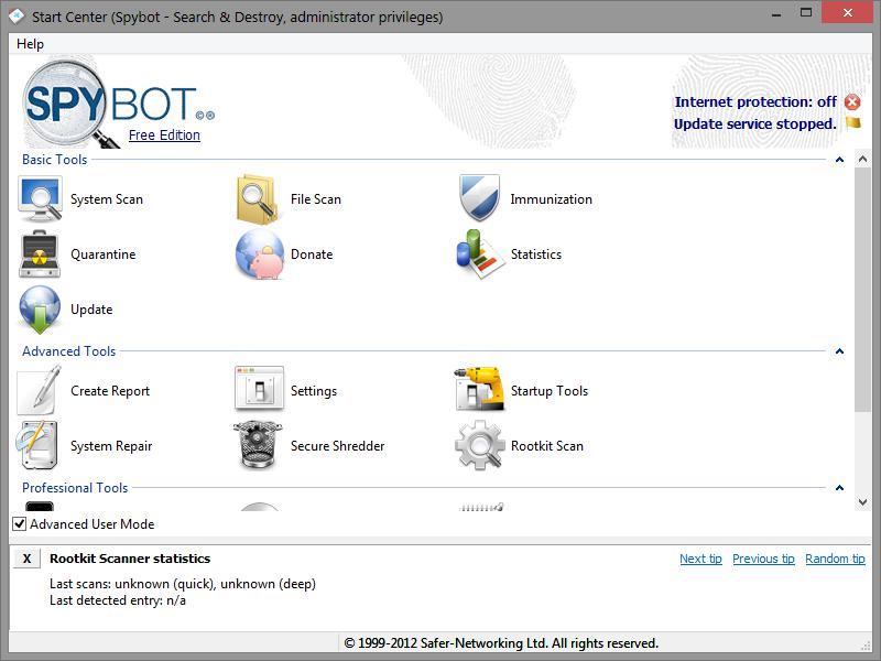 программа антишпион для windows 10