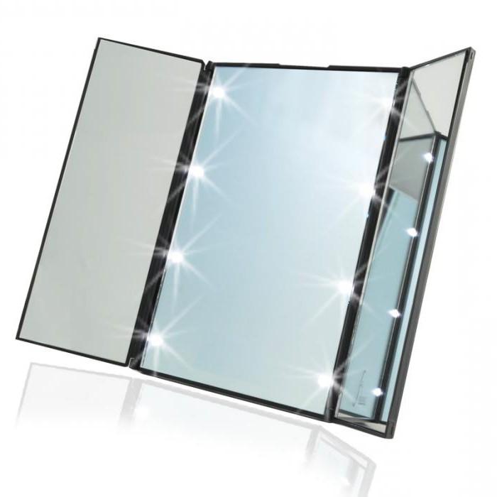 косметические зеркала с увеличением