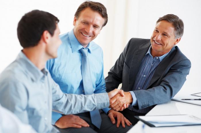 бизнес партнёрство